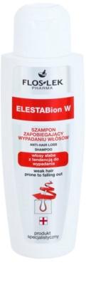 FlosLek Pharma ElestaBion W stärkendes Shampoo gegen Haarausfall