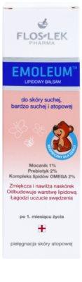 FlosLek Pharma Emoleum Lipidbalsam für Babyhaut 2