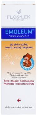 FlosLek Pharma Emoleum tusoló olaj érzékeny bőrre 2 az 1-ben 2