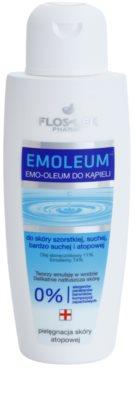 FlosLek Pharma Emoleum olje za kopel ki obnavlja bariero kože