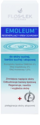 FlosLek Pharma Emoleum regenerierende Schutzcreme Für Gesicht und Körper 2