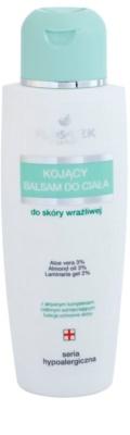 FlosLek Pharma Hypoallergic Line leite corporal apaziguador