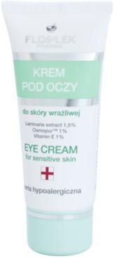 FlosLek Pharma Hypoallergic Line krem pod oczy dla cery wrażliwej