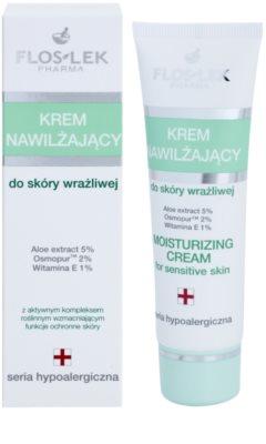 FlosLek Pharma Hypoallergic Line vlažilna krema za občutljivo kožo 1