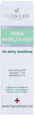 FlosLek Pharma Hypoallergic Line vlažilna krema za občutljivo kožo 2