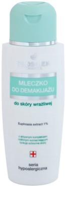 FlosLek Pharma Hypoallergic Line sminklemosó tej az arcra és a szemekre