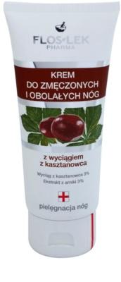 FlosLek Pharma Leg Care Horse Chestnut crema para aliviar las piernas cansadas