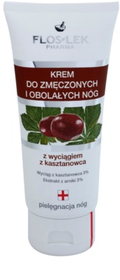 FlosLek Pharma Leg Care Horse Chestnut крем легкість ніг