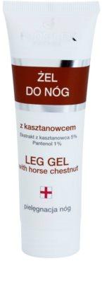 FlosLek Pharma Leg Care Horse Chestnut gel pentru picioare impotriva ochilor umflati