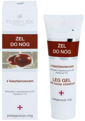 FlosLek Pharma Leg Care Horse Chestnut гель для ніг проти набряків 1