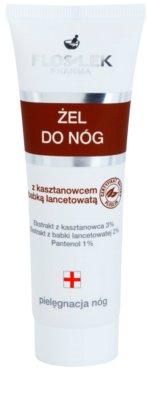FlosLek Pharma Leg Care Horse Chestnut & Plantain vlažilni gel za utrujene noge