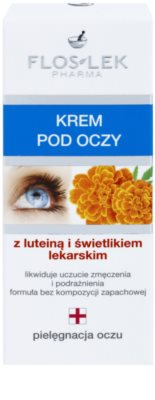 FlosLek Pharma Eye Care crema de ochi cu luteina si luminositate 2