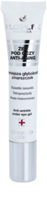 FlosLek Pharma Eye Care gel para contorno de ojos con efecto antiarrugas