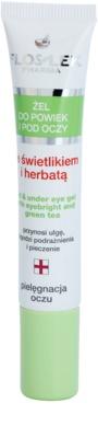 FlosLek Pharma Eye Care żel do okolic oczu ze świetlikiem i zieloną herbatą