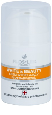 FlosLek Pharma White & Beauty belilna krema za lokalno zdravljenje