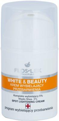 FlosLek Pharma White & Beauty krem wybielający do miejscowego zastosowania