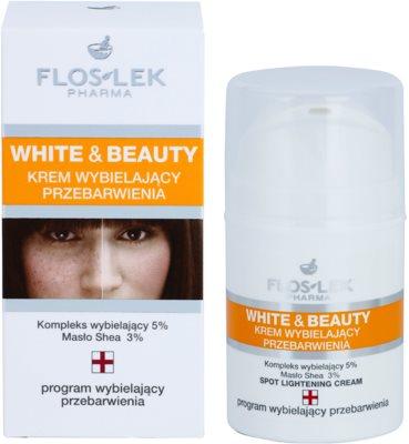 FlosLek Pharma White & Beauty krem wybielający do miejscowego zastosowania 2