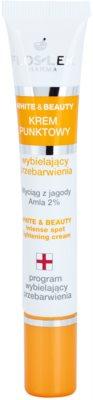 FlosLek Pharma White & Beauty концентрат за проблемна кожа против пигментни петна