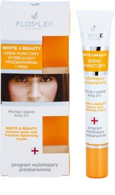 FlosLek Pharma White & Beauty tratamiento  localizado contra problemas de pigmentación 1