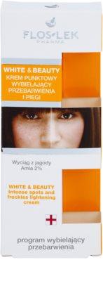 FlosLek Pharma White & Beauty tratamiento  localizado contra problemas de pigmentación 2