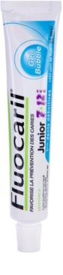 Fluocaril Junior 7-12 Bubble Gum pasta de dentes para crianças