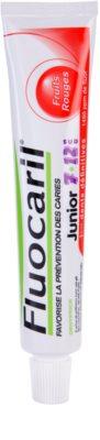 Fluocaril Junior 7-12 Red Fruits zobna pasta za otroke