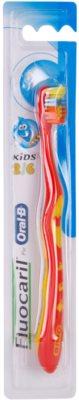 Fluocaril Kids 2-6 escova de dentes para crianças