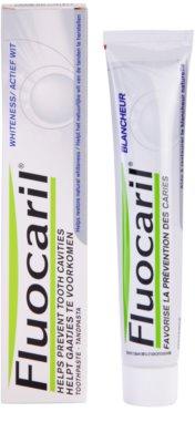 Fluocaril Whiteness zobna pasta za beljenje zob 1