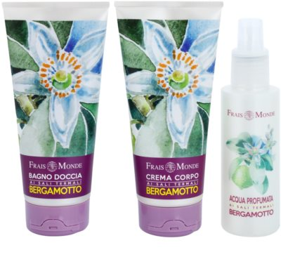 Frais Monde Body Gift Bergamot Kosmetik-Set  I. 1