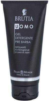 Frais Monde Terme di Répole Brutia Men borotválkozás előtti tisztító gél peeling hatással