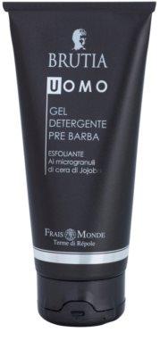 Frais Monde Terme di Répole Brutia Men gel de limpeza para antes de barbear com efeito peeling