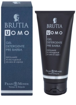 Frais Monde Terme di Répole Brutia Men borotválkozás előtti tisztító gél peeling hatással 1