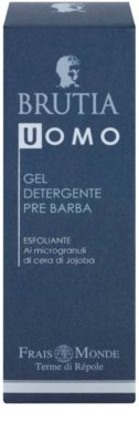 Frais Monde Terme di Répole Brutia Men borotválkozás előtti tisztító gél peeling hatással 2