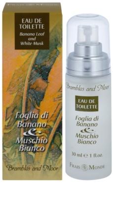 Frais Monde Banana Leaf And White Musk Eau de Toilette für Damen