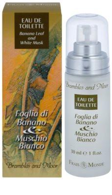 Frais Monde Banana Leaf And White Musk Eau de Toilette pentru femei