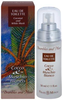 Frais Monde Coconut And White Musk Eau de Toilette para mulheres