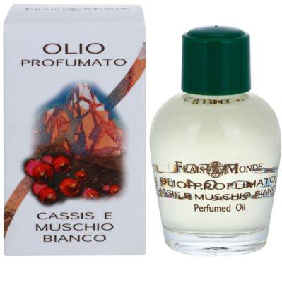 Frais Monde Cassis And White Musk parfümiertes Öl für Damen