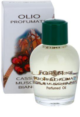Frais Monde Cassis And White Musk parfümiertes Öl für Damen 1