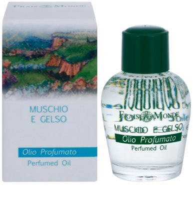 Frais Monde Musk And Mulberry parfümiertes Öl für Damen