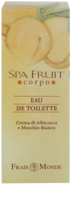 Frais Monde Spa Fruit Apricot And White Musk Eau de Toilette für Damen 4