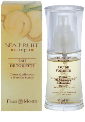 Frais Monde Spa Fruit Apricot And White Musk Eau de Toilette für Damen