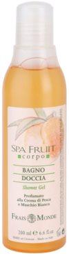 Frais Monde Spa Fruit Duschgel Pfirsich und weißer Moschus