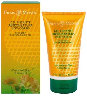 Frais Monde Sun erfrischendes feuchtigkeitsspendendes Gel für das Gesicht für längere Bräune 1