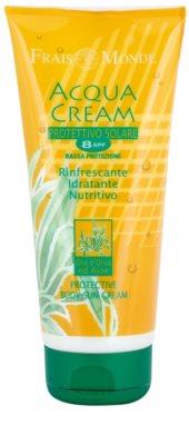 Frais Monde Sun защитен крем за загар за тяло с хидратиращ ефект SPF 8