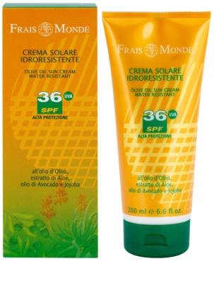 Frais Monde Sun crema solar resistente al agua SPF 36 1