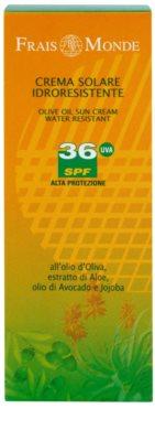 Frais Monde Sun водостійкий крем для засмаги SPF 36 2