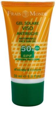 Frais Monde Sun Gel de protecție cu efect anti-rid SPF 50+