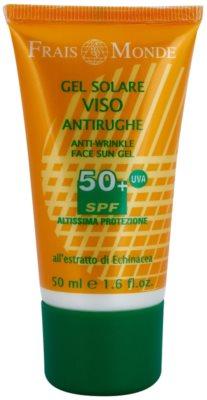 Frais Monde Sun schützendes Gel mit Anti-Falten-Effekt SPF 50+
