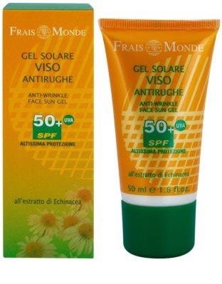 Frais Monde Sun védő gél ránctalanító hatással SPF 50+ 1
