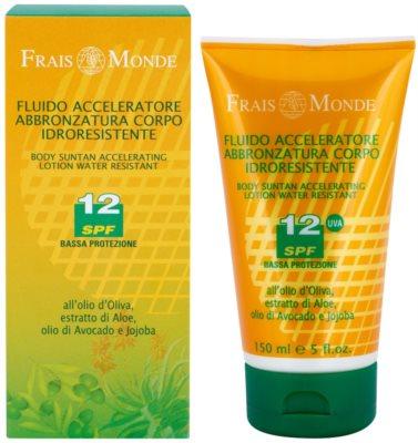 Frais Monde Sun masło do ciała przyśpieszające opaleniznę SPF 12 1